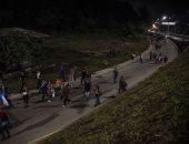 صور.. قافلة مهاجرين جديدة تنطلق من هندوراس نحو الولايات المتحدة