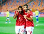 شاهد.. رد فعل مروان محسن على إضاعة لاعبي الأهلي الهجمات