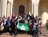 انطلاق الفوج ال17 من شباب جامعة المنوفية لزيارة العاصمة الإدارية الجديدة