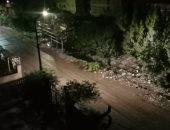 أمطار متوسطة تضرب مدن القليوبية.. والمحافظ يرفع حالة الطوارئ