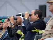 ولى عهد أبو ظبى فى افتتاح قاعدة برنيس: إنجازات نوعية تعكس رؤية مصر الطموحة