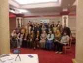 صور.. جامعة حلوان تشارك فى مبادرة صنايعية مصر وتوفير فرص عمل للمتدربين