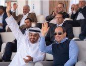محمد بن زايد: مهرجان شرم الشيخ يمثل عمق ترابط الشعبين الإماراتى والمصرى