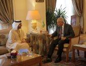 أحمد أبو الغيط يلتقى أمين عام مجلس حكماء المسلمين