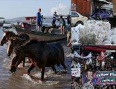 صور.. العالم هذا المساء.. تواصل المظاهرات فى فرنسا ضد قانون ماكرون لإصلاح المعاشات.. منقذون يبحثون عن ناجين بموقع الانهيارات الجليديّة فى باكستان.. الفلبينيون يحاولون إنقاذ الحيوانات والماشية من الحمم البركانية