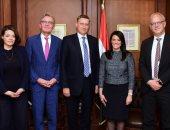 وزيرة التعاون الدولى: تعميق الشراكة مع ألمانيا تتوافق مع أولويات الحكومة