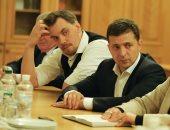 تسريب مكالمة ينتقد فيها رئيس الدولة سبب استقالة رئيس الوزراء الأوكرانى