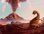 """دراسة جديدة تكشف سبب """"جديد"""" لانقراض الديناصورات.. اعرف التفاصيل"""