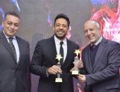 محمد حماقى لجمهوره بعد تكريمه فى المغرب: شكرا على ثقتكم ودعمكم المستمر