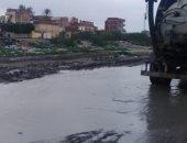 صور.. هطول أمطار متوسطة على مناطق متفرقة من الإسكندرية
