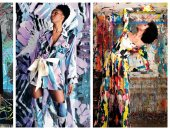 بنت الرسام ديزاينر.. مصممة أزياء تدمج الموضة بالفن لتشجيع الملابس المستدامة