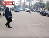 """كثافات مرورية بكورنيش النيل """"شبرا – التحرير"""".. فيديو"""
