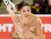 """""""الرقص على الجليد"""" فى بطولة التزلج الكندية 2020"""