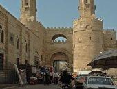 """قارئ يشارك بصور لباب زويلة ويوضح سبب إطلاق المصريين عليه """"بوابة المتولى"""""""