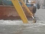 الرى ترصد بقعة سولار فى نهر النيل بالزمالك ولم يستدل على مصدرها.. فيديو وصور