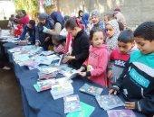 معرض كتاب القرية.. النسخة الأولى فى منشأة زعفرانة بأبو قرقاص فى المنيا