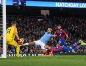 مانشستر سيتي يسقط فى فخ التعادل أمام كريستال بالدوري الإنجليزي.. فيديو