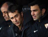 لوبيتيجي: هدف إشبيلية الملغي أمام ريال مدريد كان صحيحا