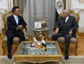 """""""العصار"""" يبحث مع سفير كوريا الجنوبية بالقاهرة تعزيز التعاون"""