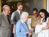 """الملكة اليزابيث حزينة والسبب """"آرتشى"""" نجل ميجان وهارى.. اعرف التفاصيل"""