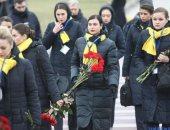 فيديو.. لحظة وصول جثامين ضحايا الطائرة الأوكرانية لمطار بوريسبيل بكييف