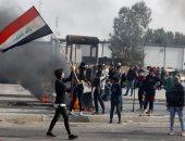 الأمن العراقى يفرق تظاهرة أمام منزل محافظ بابل ويعتقل عددا من المحتجين