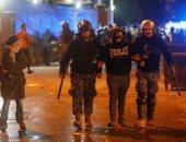 قوات الأمن اللبنانية تفرض سيطرتها على العاصمة بعد مواجهات مع المتظاهرين