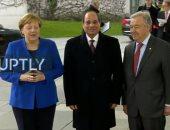 انطلاق فعاليات مؤتمر برلين بشأن الأزمة الليبية بمشاركة الرئيس السيسى