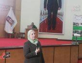 """وزيرة التضامن: إطلاق برنامج """"وعى"""" 13 فبراير.. وسيتضمن 12 رسالة توعية"""