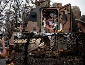 """الأستراليون يرفعون شعار """"قوتنا فى وحدتنا"""" لمواجهة أزمة الحرائق.. ويقدمون درسا """"ملهما"""" في التعامل مع المأساة.. المواطنون رفضوا الانكفاء على الذات ودعموا المنكوبين.. ومسئول سابق: قررنا أن نكون مجتمعا سويا (صور)"""