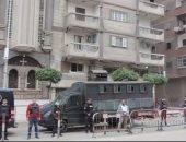 أجراءات أمنية مشددة لتأمين كنائس بالإسكندرية فى احتفالات عيد الغطاس