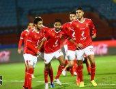 فيديو..  حسين الشحات يسجل هدف الأهلى الأول أمام المقاولون فى الدقيقة 20