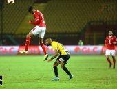 الأهلي يحافظ على تقدمه أمام المقاولون العرب بعد مرور 75 دقيقة