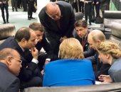ميركل: مواقف مصر والإمارات وروسيا ساهمت فى توحيد موقف أوروبا من ليبيا