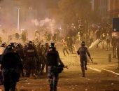 اشتباكات بين المتظاهرين وقوات الأمن في بيروت