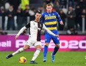 يوفنتوس ضد بارما.. كريستيانو رونالدو يسجل هدف اليوفي قبل نهاية الشوط.. فيديو