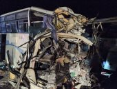 صور.. مصرع 12 وإصابة 46 فى حادث بالجزائر.. وتبون يعزى عائلات الضحايا