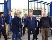 فرج عامر يعيد فتح فرع سموحة ببرج العرب بعد سنتين من اغلاقه