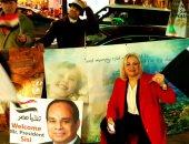 الرئيس السيسى: سعدت كثيرا بحفاوة استقبال أبناء الجالية المصرية فى لندن