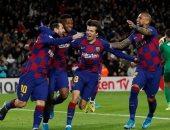 """برشلونة ضد غرناطة.. ميسي يقود البارسا لاستعادة صدارة الدوري الاسباني """"فيديو"""""""