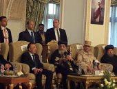 صور.. البابا تواضروس يتلقى التهنئة بعيد الغطاس فى الإسكندرية