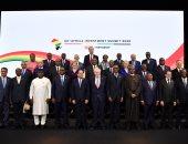 الرئيس السيسى وجونسون وزعماء إفريقيا يشاركون فى حفل استقبال بقصر باكنجام