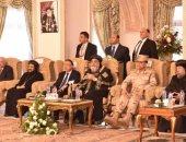 البابا تواضروس يستقبل محافظ الإسكندرية وقيادات أمنية لتهنئته بعيد الغطاس