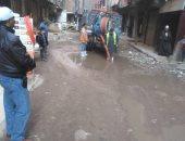 استجابة لصحافة المواطن.. القابضة للمياه تعالج شكوى انتشار مياه المجارى بالبساتين