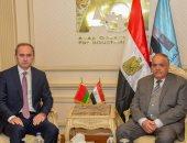 سفير بيلاروسيا يدعم فتح مجالات تعاون جديدة خلال زيارته للعربية للتصنيع