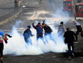 سكاى نيوز: سقوط جرحى فى مواجهات بين الأمن العراقى ومحتجين