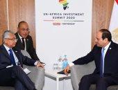 السيسى يبحث مع رئيس وزراء موريشيوس تعزيز التعاون في مختلف المجالات
