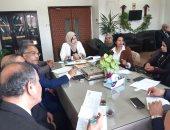 """نائب محافظ القليوبية تعقد اجتماع بالنقابات المهنية لتفعيل مبادرة """"إبدأ مشروعك"""""""