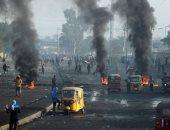 سكاى نيوز: سيارات مدنية ترافق الأمن العراقى تطلق النار على متظاهرى وسط بغداد