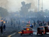 متظاهرون يقطعون 3 جسور فى مدينة الناصرية جنوب العراق
